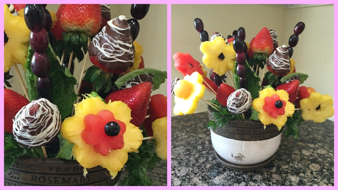 How to make a bouquet of fruit: step by step instructions 36
