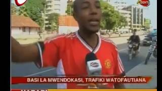 Mabasi ya Mwendokasi Yazua Tafrani Jijini Dar es salaam