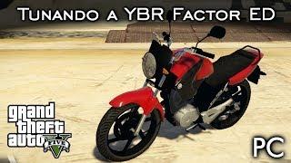 "Tunando a Yamaha FACTOR ""H2R""! 😂😂 MOD | GTA V - PC [PT-BR]"