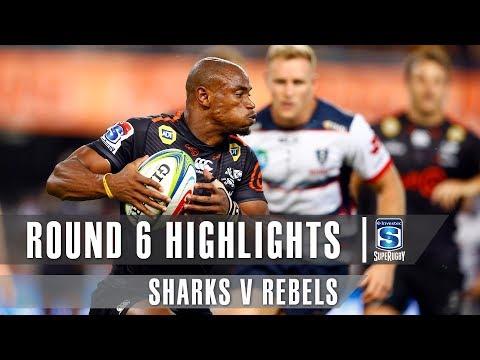 ROUND 6 HIGHLIGHTS: Sharks V Rebels – 2019
