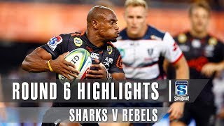 ROUND 6 HIGHLIGHTS: Sharks v Rebels – 2019