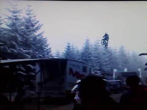 Jason Rennie World Record Mountain Bike Jump 133 6 Ft Youtube