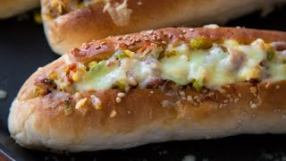Veg Mexican Hot Dog | Tea Time Snack | Quick & Easy Recipe By Teamwork Food