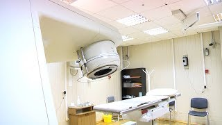 Линейный ускоритель в больнице после ремонта