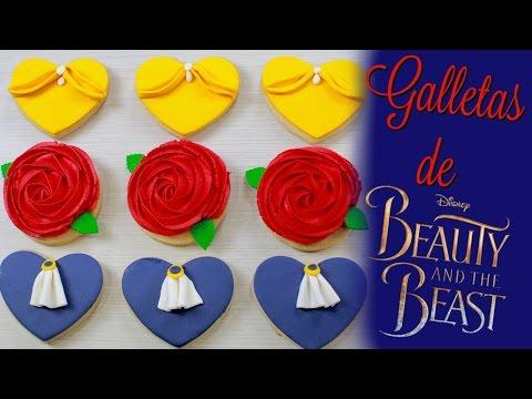 Galletas De La Bella Y La Bestia Collab Con Allthings Cute как