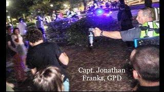 Chief Wayne Scott approves of Capt. Jonathan Franks' misconduct
