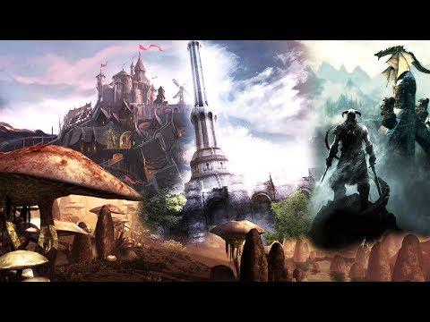 Evolution of The Elder Scrolls Games