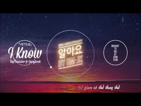 [VIETSUB]  I Know -  BTS  RM, JK