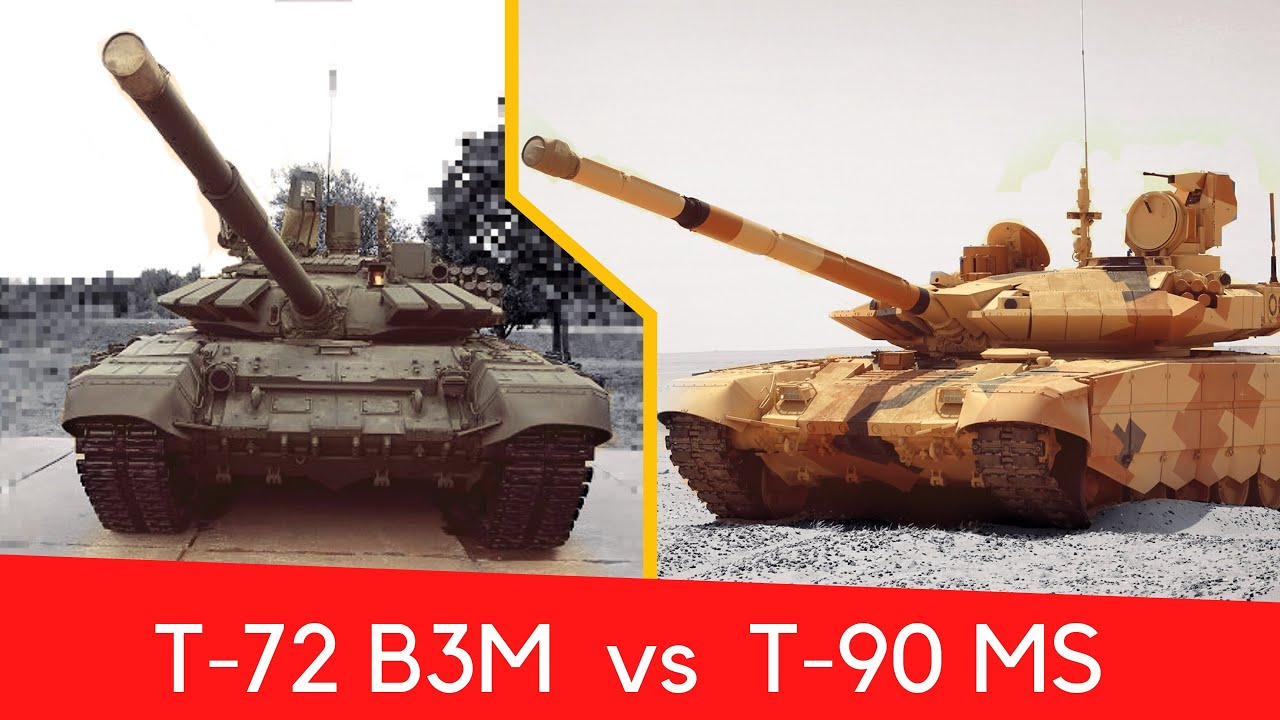 Is T-72B3M equivalent to T-90MS | Analysis