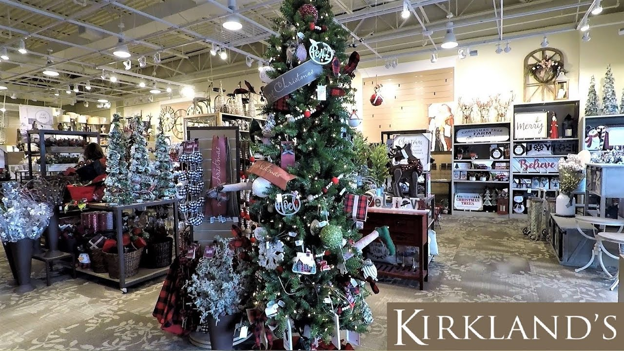 kirklands christmas 2018 christmas shopping ornaments decorations home decor 4k