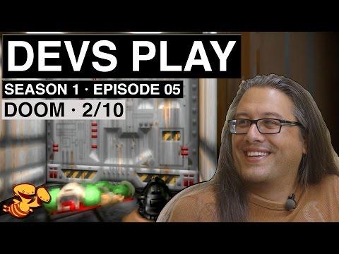 John Romero playing Doom is pornography for game designers