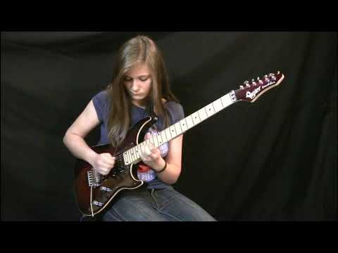Move over, Eddie: Teen girl shreds Van Halen cover