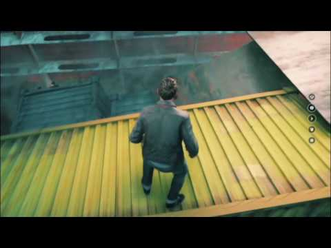 Being squished at the drydocks. | Quantum break #9
