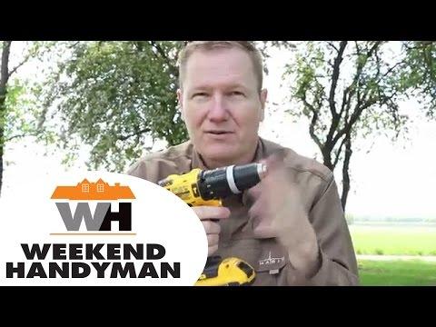 #DeWALTtough Drill DCD785 20v Max Lithium Ion Cordless Tool: By The Weekend Handyman