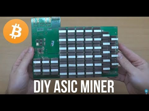 DIY At Home ASIC MINER - ANTMINER !!!  PART 1/2