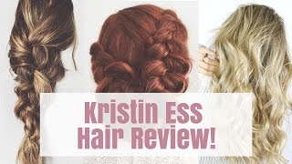 Kristin Ess' Hair Products for Target Review + Try On