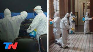 El Diputado Julio Sahad, Positivo En Coronavirus: Desinfectan El Congreso