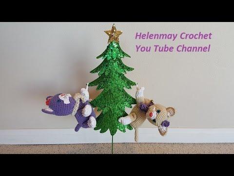 Easy Christmas Amigurumi : Crochet quick easy beginner amigurumi playful kittens diy tutorial