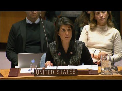 U.N. Security Council meets on Iran