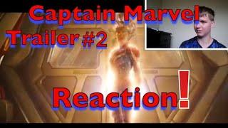 Captain Marvel Trailer #2 (2019) reaction!
