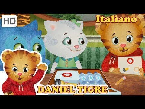 Daniel tiger in italiano la grande tempesta youtube