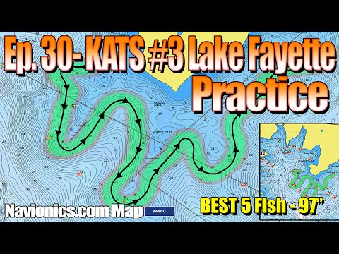 Ep. 30 - KATS #3 Lake Fayette Practice (One Week two days Prior to event)