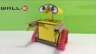 ROBOT eléctrico WALL-E genial!! como hacerlo utilizando solo cartón