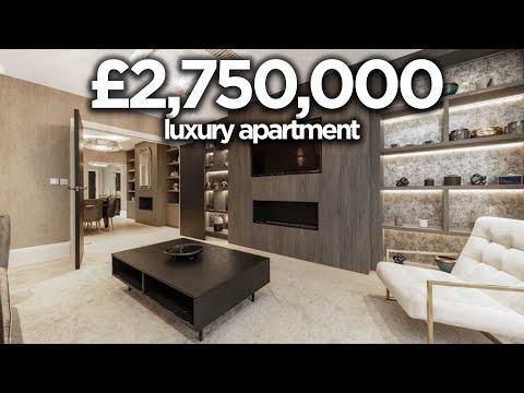 INSIDE A £2.75 MILLION LONDON APARTMENT (COVENT GARDEN!) | *FULL WALK THROUGH*