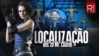 Resident Evil 3 - Localização dos 20 bonecos Mr. Charlie