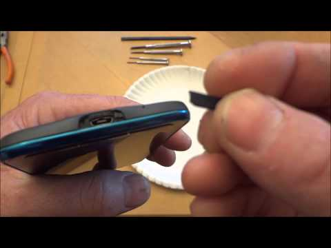 Galaxy S4 Active USB Cover Replacement (Easy Method)