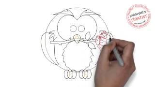 Как нарисовать птицу счастья(Как нарисовать птицу поэтапно простым карандашом за короткий промежуток времени. Видео рассказывает о..., 2014-06-25T14:08:14.000Z)