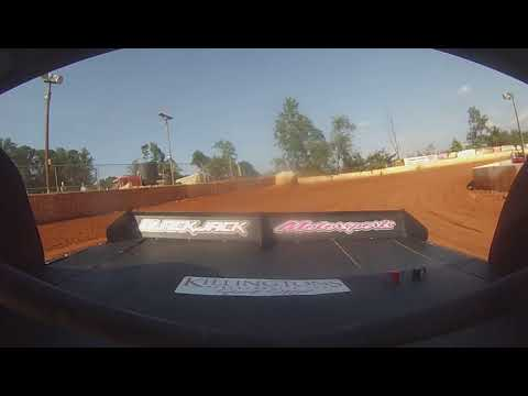 East Lincoln Speedway 6-29-19 Pro 4 Rear Cam Hot Laps #1 Alexus Motes
