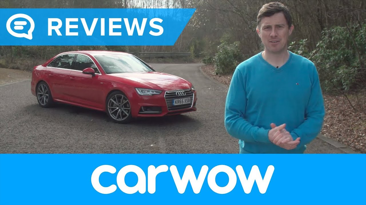 Audi A4 Saloon 2018 review | Mat Watson Reviews