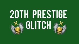 MW3 Glitches - 20th Prestige Glitch Tutorial
