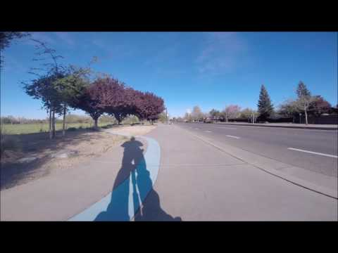 BigRigTravels Segway Adventure - Natomas Westside Path (South) Sacramento, CA - March 18, 2017