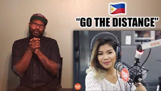 "Katrina Velarde ""Go The Distance"" Reaction"