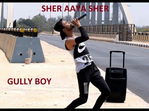 Sher Aaya Sher Reprise|Gully Boy|Mohammed Abdulla|Ranveer Singh & Alia Bhatt|DIVINE