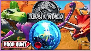 NUEVO PROP HUNT *JURASSIC WORLD* (FORTNITE MINIJUEGOS)