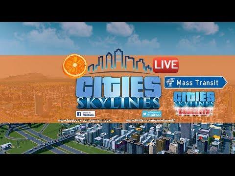 Videos On Demand: CITIES SKYLINES ll INCREASING TRANSPORT NEEDS