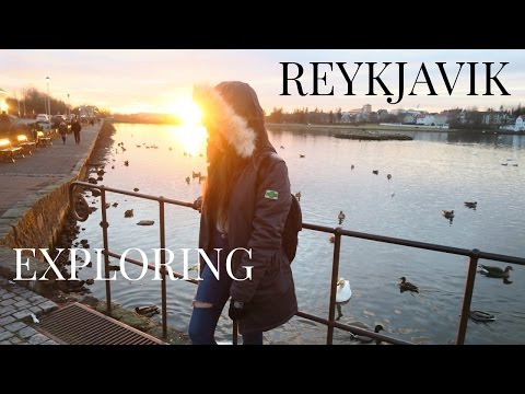 Iceland Vlog! Exploring Reykjavik + What I Ate Today Vegan