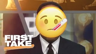 Stephen A. Torn On MVP | First Take | April 10, 2017