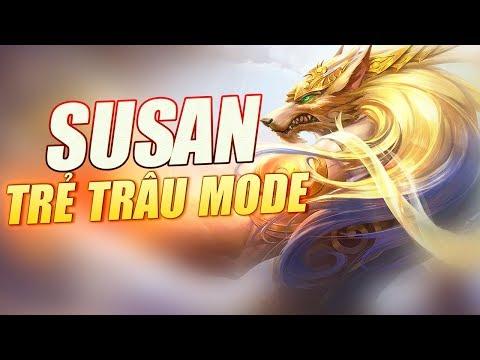 ThrowThi Cầm Susan Phong Cách Trẻ Trâu