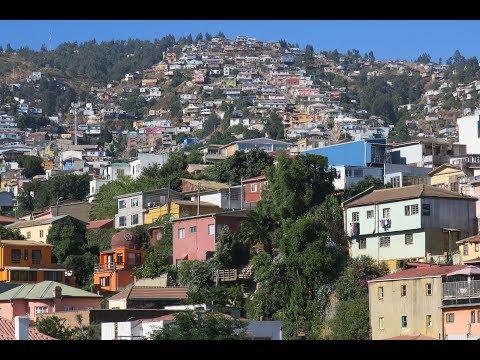 Colours of Valparaiso, Chile