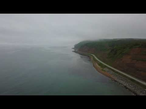The road to LNG plant, Sakhalin island