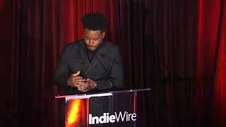 Ryan Coogler Visionary Award Acceptance Speech — IndieWire Honors 2018