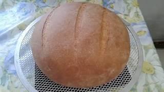 Полезный хлеб с мукой грубого помола в духовке