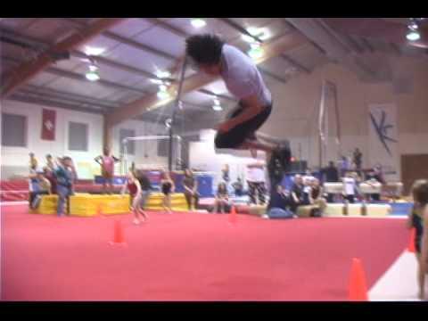 CRAZY Talented Gymnast Aaron Evans
