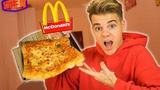 Ich mache eine McDonalds PIZZA! 🍕😍