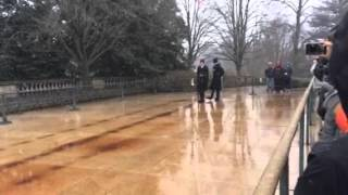 Changing of the Guards at the Tomb of the Unknown Soldiers