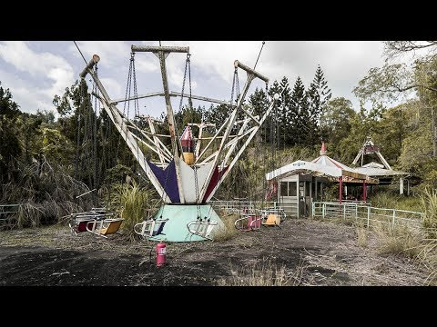 Abandoned Theme Park In Taiwan (Attacked By Tarantulas)